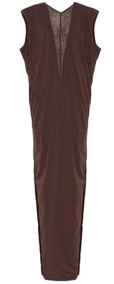 Rick Owens V-neck cotton dress