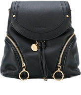 See by Chloe fold over backpack - women - Leather - One Size