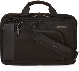 Briggs & Riley Black Verb Contact Medium Briefcase