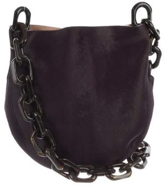 Calvin Klein Collection Ponyhair Sling Bag silver Ponyhair Sling Bag