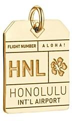 Jet Set Candy Hnl Honolulu Luggage Tag Charm