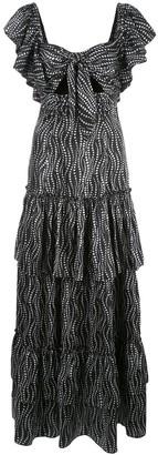 Cinq à Sept Valerie daisy chain print dress