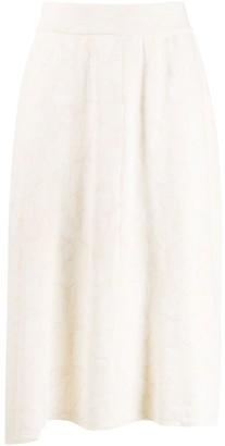 Christian Wijnants Flared Midi Skirt