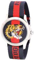 Gucci Le Marché des Merveilles 38mm striped fabric watch