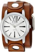 Nemesis Women's 065BGBS Roman Series Analog Display Japanese Quartz Brown Watch