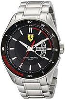 Ferrari Men's 0830189 Gran Premio Silver-Tone Stainless Steel Watch