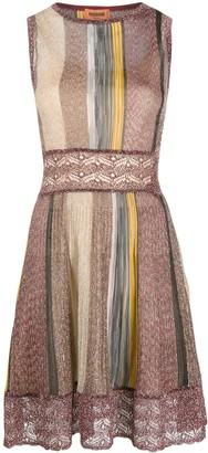 Missoni Lace Panel Knit Dress