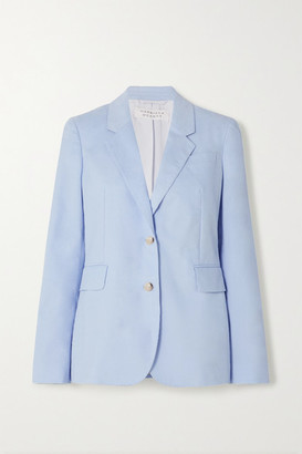 Gabriela Hearst Sophie Cotton-corduroy Blazer - Light blue