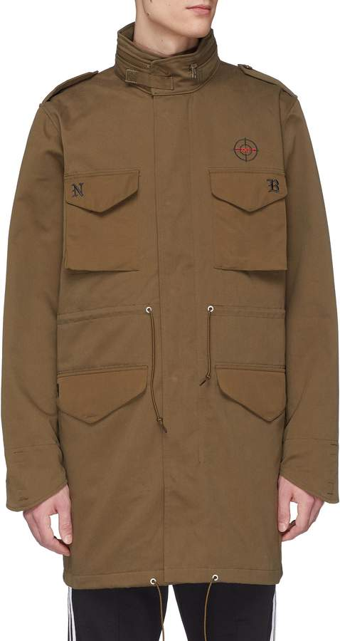 adidas x NEIGHBORHOOD Two-in-one Primaloft® padded vest and retractable hood jacket