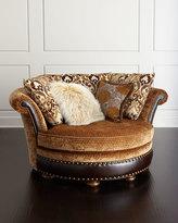 Horchow Massoud Schaye Cuddle Chair