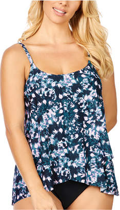 Island Escape Swimwear Calypso Cape Town Printed Draped Underwire Tankini, Women Swimsuit