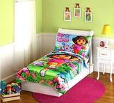 Nickelodeon Dora Satin Toddler Bedding Set