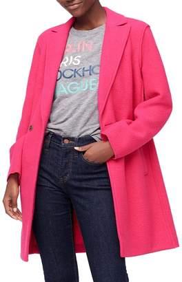 J.Crew J. Crew Daphne Boiled Wool Topcoat (Regular & Plus Size)