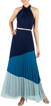Julia Jordan Halter-Neck Maxi Dress