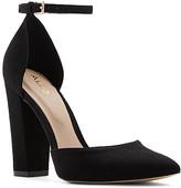 Aldo Women's Pumps Black - Black Ankle-Strap Nicholes D'Orsay Pump - Women