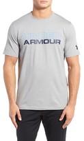 Under Armour Men's Stacked Wordmark Regular Fit T-Shirt