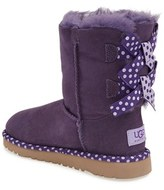 UGG 'Bailey Bow - Dot' Boot (Walker, Toddler, Little Kid & Big Kid)
