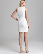Cynthia Steffe Peplum Dress - Camile Mesh