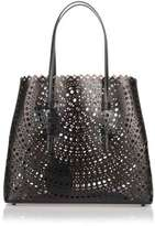 Alaia Black leather cut-out bag