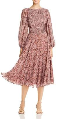 Fame & Partners Printed Midi Dress
