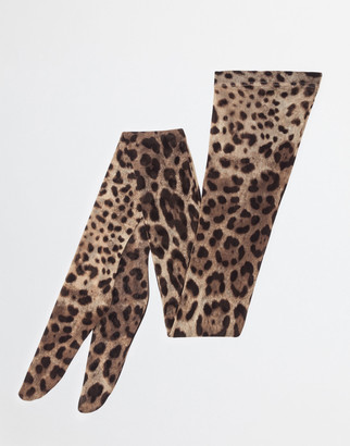 Dolce & Gabbana Printed Tights