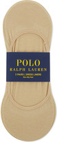 Polo Ralph Lauren Cotton shoe liners pack of three