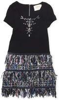 Hannah Banana Girls 4-6x) Tweed Skirt Dress
