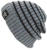 adidas Men's National Stripe Beanie - Black
