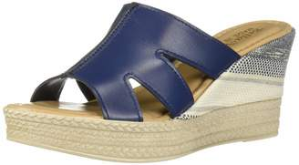 Bella Vita Women's Rox-Italy Slide Sandal Shoe