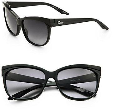 Christian Dior Cat's-Eye Acetate Sunglasses