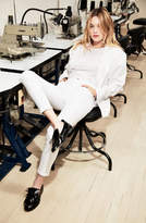 J Brand Alana High-Rise Cropped Super Skinny in Blanc