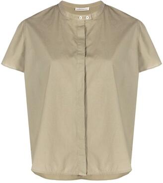 Stefano Mortari Mandarin-Collar Cotton Shirt