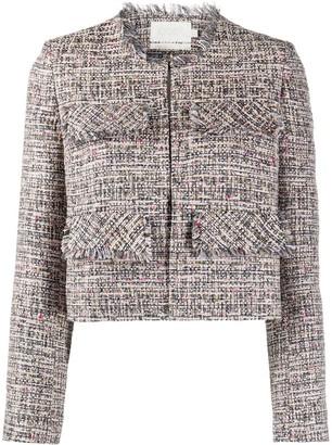 Goat Coco cropped tweed jacket