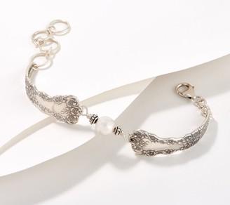 Silver Spoon Jewelry Silver Spoon Lady Helen Bracelet, Sterling Silver