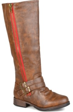 Journee Collection Women's Extra Wide Calf Lady Boot Women's Shoes