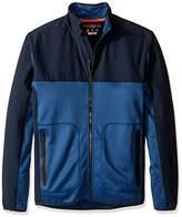 Hawke & Co Men's Hybrid Fleece Full Zip