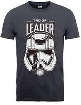 Star Wars Men's VII Captaina Phasma Troop Leader Head Short Sleeve T-Shirt