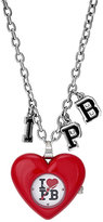 Pauls Boutique Trixie Stainless Steel Heart Pendant Watch