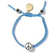 Venessa Arizaga Peace Sign Bracelet