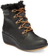 Sperry Women's Luca Peak Cold Weather Lace-Up Wedge Ankle Boots
