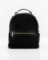 Le Château Nylon & Faux Leather Backpack