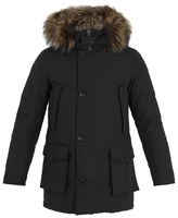 Woolrich John Rich & Bros. Arctic Fox Fur-trimmed Down Parka