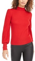 Trina Turk Tom Collins Mock-Neck Sweater