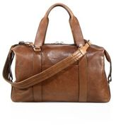 Brunello Cucinelli Leather Gym Bag
