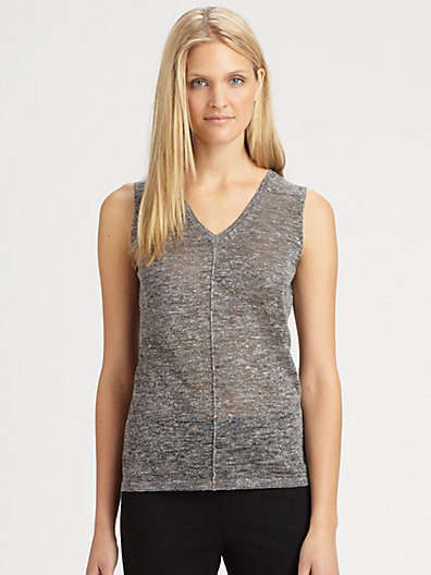 Eileen Fisher V-Neck Tank Top