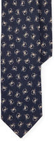 Polo Ralph Lauren Crab-Print Linen Narrow Tie