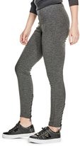 GUESS Factory Women's Lahla Lace-Up Leggings