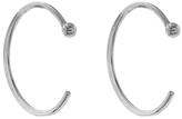 Melissa Joy Manning Large Hug Earrings - Sterling Silver