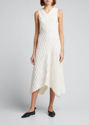 Proenza Schouler White Label Fringe Fil Coupe Dress