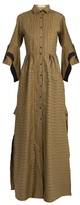 Palmer Harding PALMER//HARDING Striped maxi shirtdress